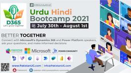 Microsoft Dynamics 365 Urdu Hindi Bootcamp 2021