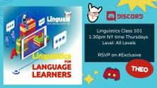 Introduction to linguistics for language learners