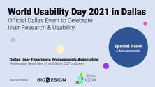 World Usability Day 2021