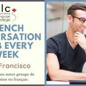 French conversation club every week 🏆 San Francisco