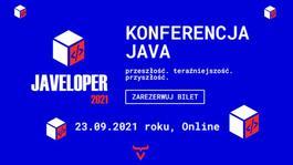 Javeloper 2021 (online) | Największa konferencja o Java