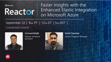 Faster insights with the Enhanced Elastic Integration on Microsoft Azure