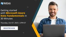 Virtual Event - Getting started with Microsoft Azure Data Fundamentals in 30 Min
