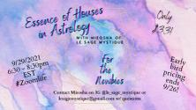 ONLINE: Essence of Houses in Astrology