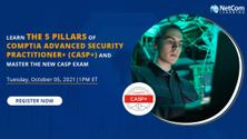 5 Pillars of CompTIA Advanced Security Practitioner and Master the New CASP Exam