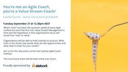 You're not an Agile Coach, you're a Value Stream Coach!