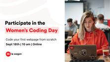 [Women's Coding Day] Code your first webpage!