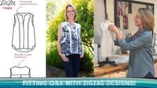 Fitting Q&A with Christine of ZigZag Designs!