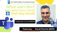 What users don't know about Teams security that they should