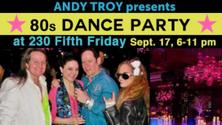 80s Dance Party at 230 Fifth, Free Admission (Front Elevators)