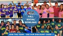 Don't Miss Out On Fall Fun! Join Our Super Fun Team Rolling This October!🍻🎳