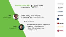 SysOps/DevOps Polska MeetUp Online #40