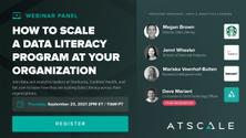AI Webinar: Scale a Data Literacy Program at Your Organization