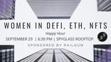 Women in DeFi, Ethereum, NFTs - Happy Hour