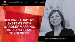 Building Adaptive Systems with Wardley Mapping, DDD, and Team Topologies