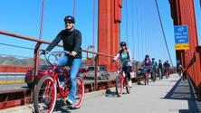 Golden Gate Bridge E-Bike Tour from San Francisco to Sausalito 🚴♂️