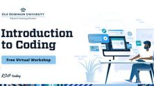 Introduction to Coding | Software Development Workshop