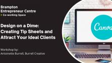Design on a Dime: Creating Tip Sheets and Attract Your Ideal Clients