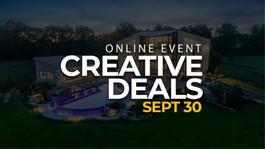 First Meetup: Creative Deals (ONLINE)