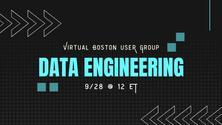 Data Engineering - Tips & Tricks on 9/28