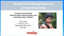 Stress/Time Management in Entrepreneurship