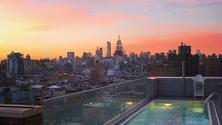 Sunset @ Mr. Purple Rooftop