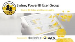Power BI Roles and Career paths [Online Event] - Sep 2021