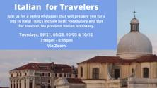 VIRTUAL Italian for Travelers