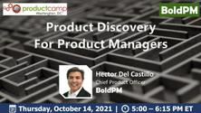 Product Discovery For Product Managers
