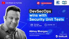 DevSecOps wins with Security Unit Tests