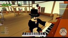 Virtual Class: Building an interactive musical town in Roblox