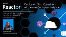 Deploying Your Containers with Azure Container Instances