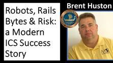(CS)2AI Online(tm): Robots, Rails, Bytes and Risk - A Modern ICS Success Story