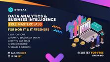 Data Analytics & Business Intelligence FREE MASTERCLASS for Non IT & IT Freshers