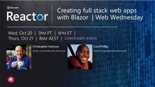 Creating full stack web apps with Blazor - with Cecil Phillip  |  Web Wednesday