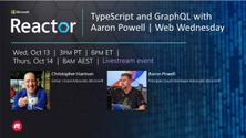 TypeScript and GraphQL with Aaron Powell | Web Wednesday