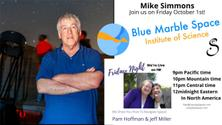 Help Us Welcome Mike Simmons, Blue Marble Space Institute of Science