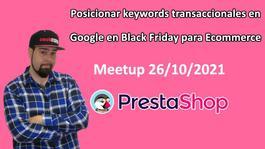 Posicionar keywords transaccionales en Google en Black Friday para Ecommerce