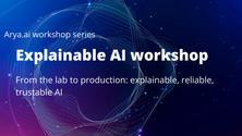 Explainable AI online workshop