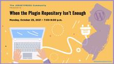 JerseyPress: When the Plugin Repository Isn't Enough