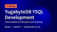 YugabyteDB YSQL Development Intermediate Certification and Training