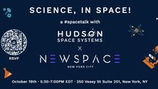 """Hudson Space Systems presents: """"Science, in Space!"""""""