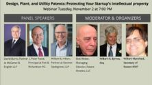 Design,Plant,and Utility Patents:Protecting Your Startup's Intellectual property