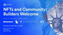 NFTs and Community: Builders Welcome